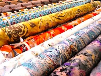 Фактуры тканей для пошива штор