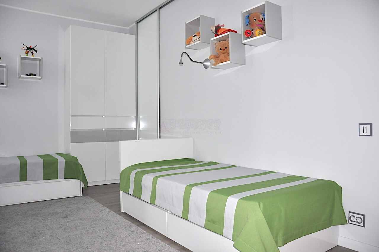 Римские шторы для детской комнаты ул.Ахматовой