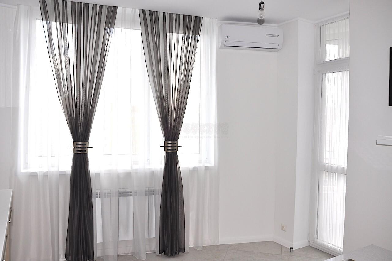Класичні штори для кухні вул.Ахматової
