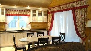 Класичні штори для кухні с.Проців