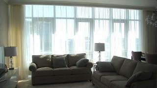 Класичні штори для вітальні ЖК Бульвар Фонтанів