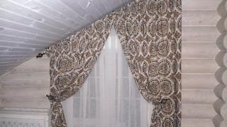Итальянские шторы для кухни с.Жукин