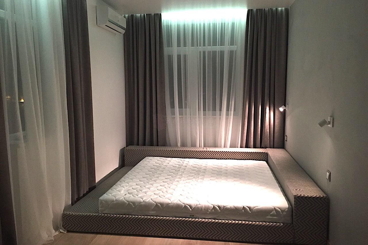 Классические шторы для спальни ЖК Элегант Холл