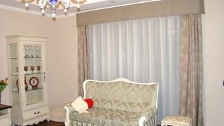 Класичні штори для вітальні Софіївська Борщагівка
