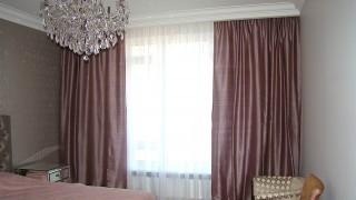 Класичні штори для спальні ЖК Бульвар Фонтанів