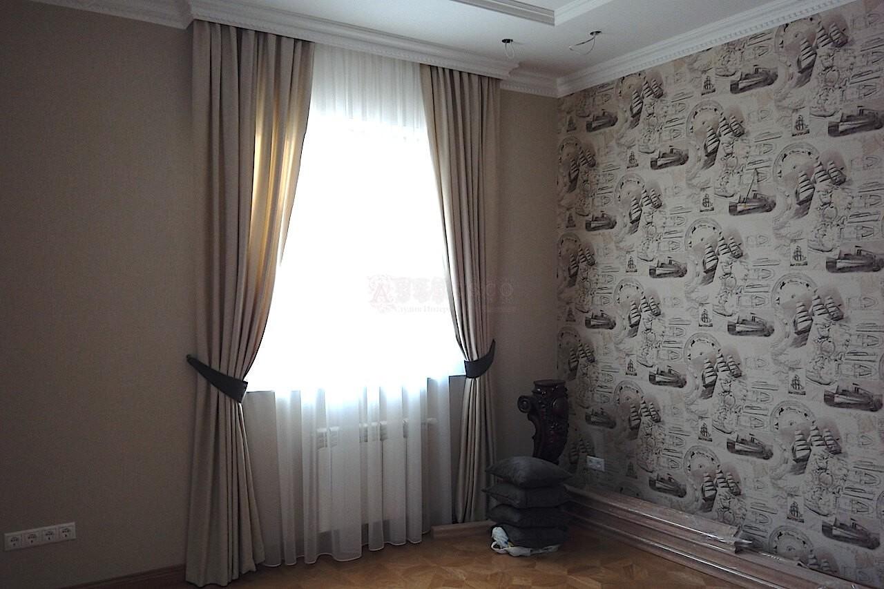 Итальянские шторы для гостиной с.Петровское