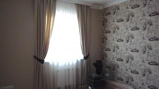 Італійські штори для вітальні с.Петрівське