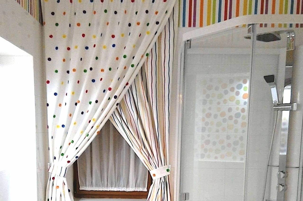 Итальянские шторы для санузла с.Петровское