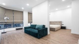 Римські штори для квартири студія у ЖК Pechersk Sky