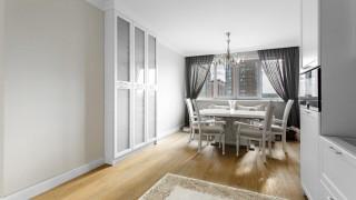 Класичні штори для кухні в ЖК Obolon Residence