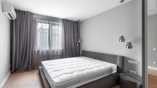 Классические шторы для спальни на ул.Константиновской