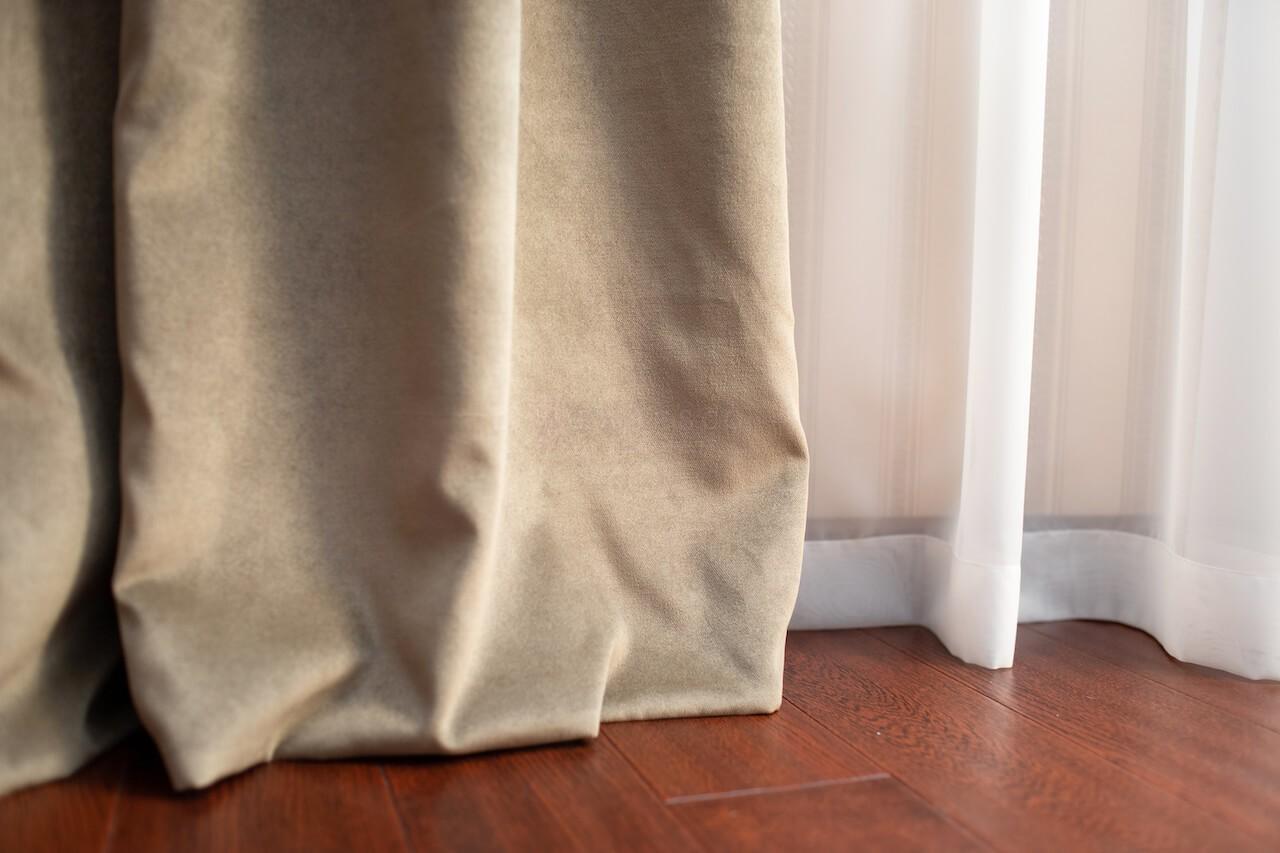 Класичні штори для кабінету вул. Дніпровська набережна
