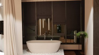 Римські і класичні штори для квартири студія ЖК PecherskSky