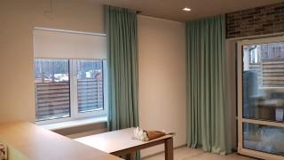 Класичні і рулонні штори для кухні смт Гостомель