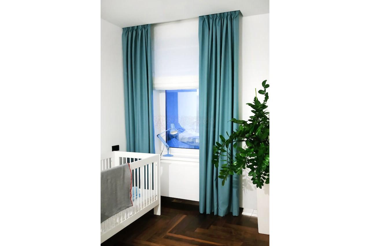 Классические и римские шторы для детской ул. Гоголевская